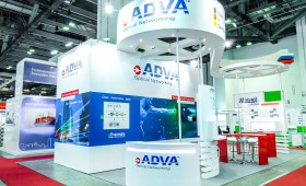 Adva Optical Exhibition Booth