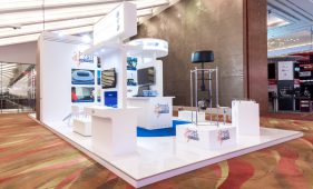 Broadcast Solutions Exhibition Booth