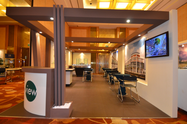 Property Exhibition Booth : Country view exhibition booth punktlandung events exhibitions