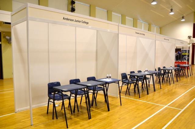 Standard booths Octanorm
