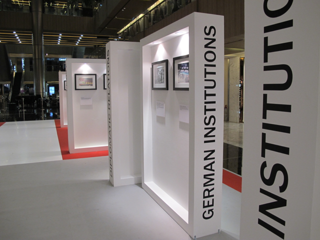The Panels of the photo exhibition