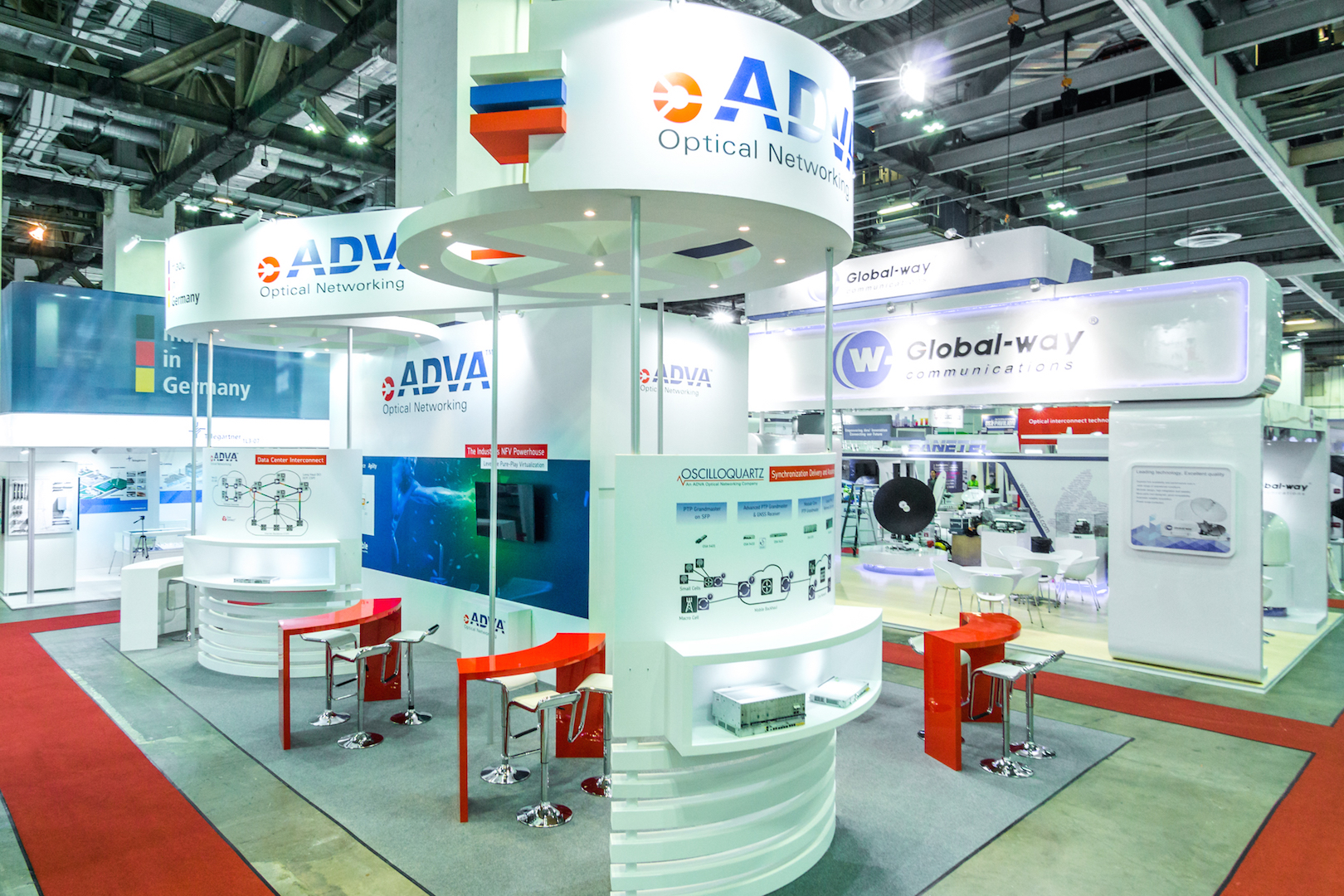 CommunicAsia exhibition booth design & build singapore