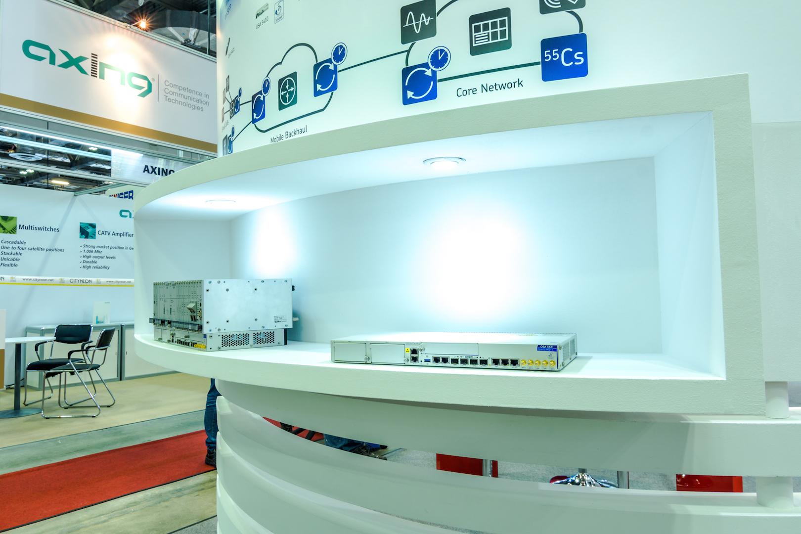 CommunicAsia exhibition booth design & build singapore