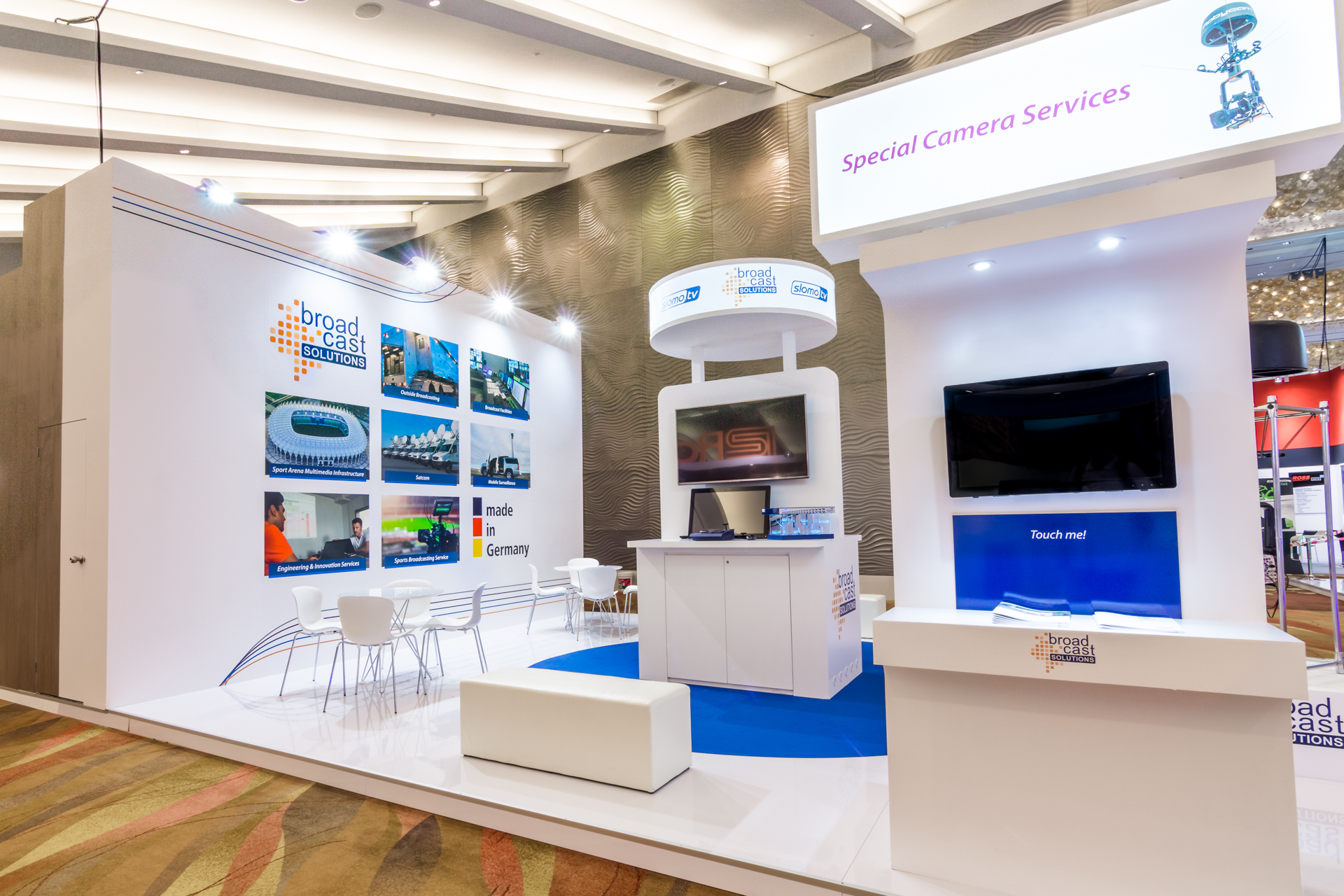 Exhibition Booth design Singapore