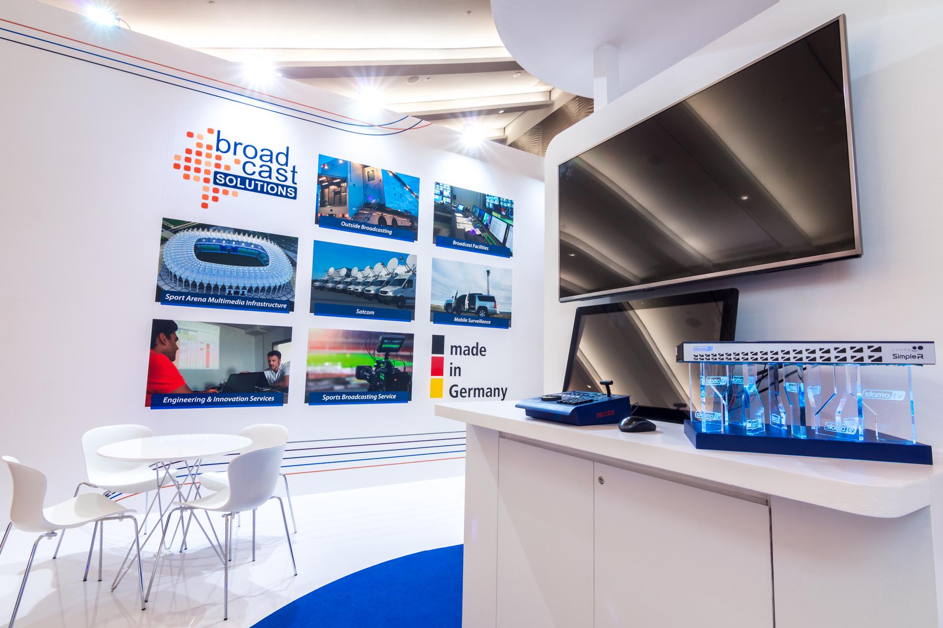 Exhibition booth design Communicasia Singapore