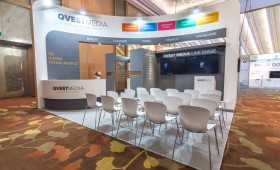Qvest Media Exhibition Booth