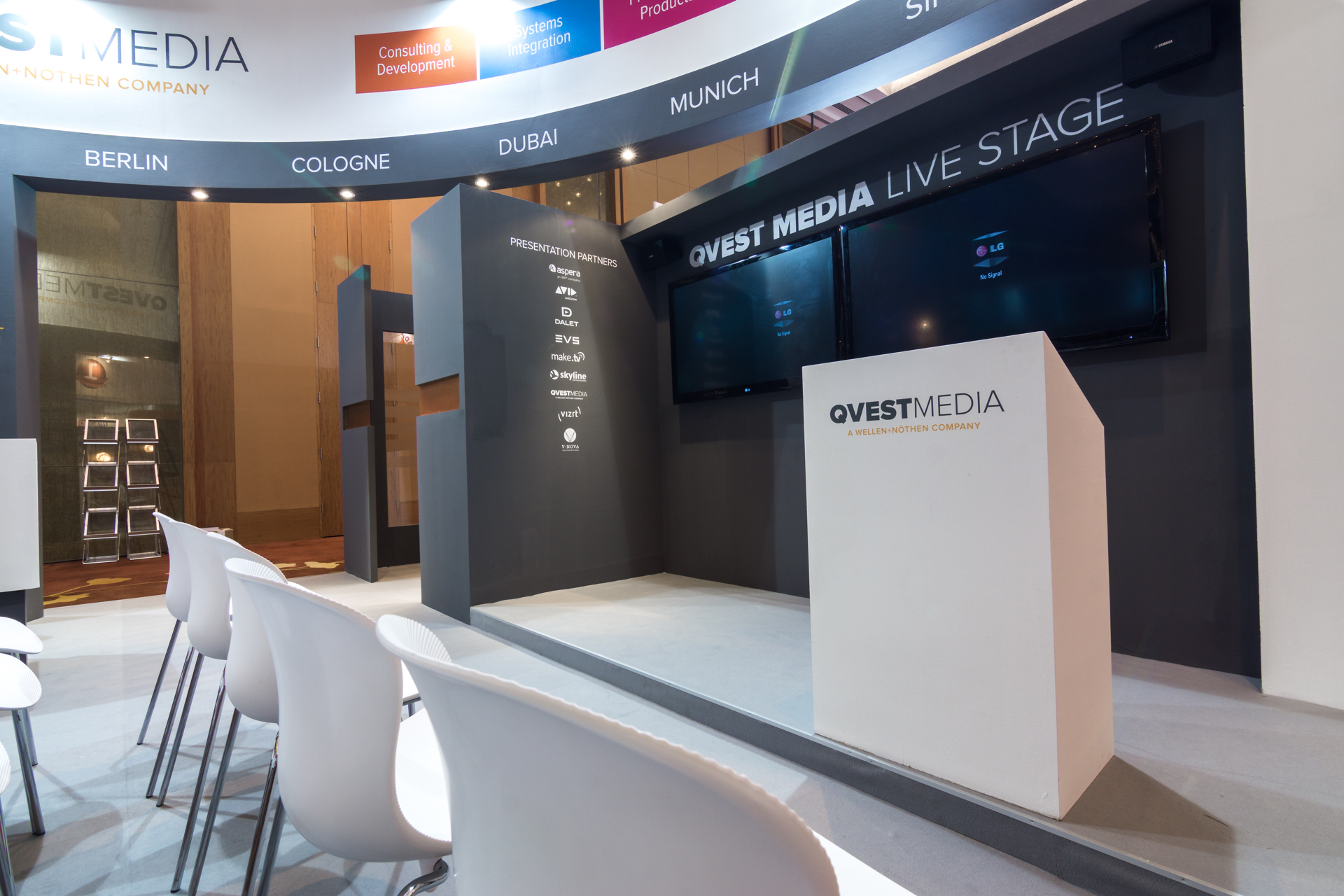 BroadcastAsia Singapore exhibition booth design company
