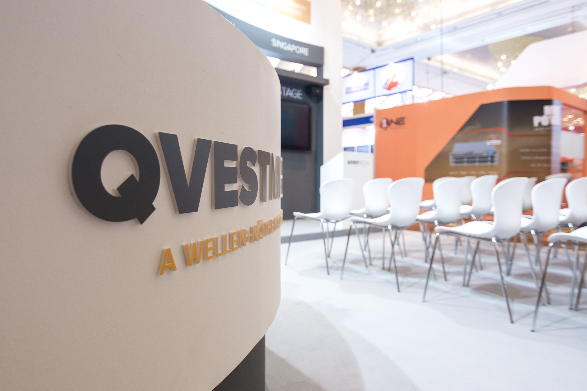 Qvest Media at BroadcastAsia Singapore