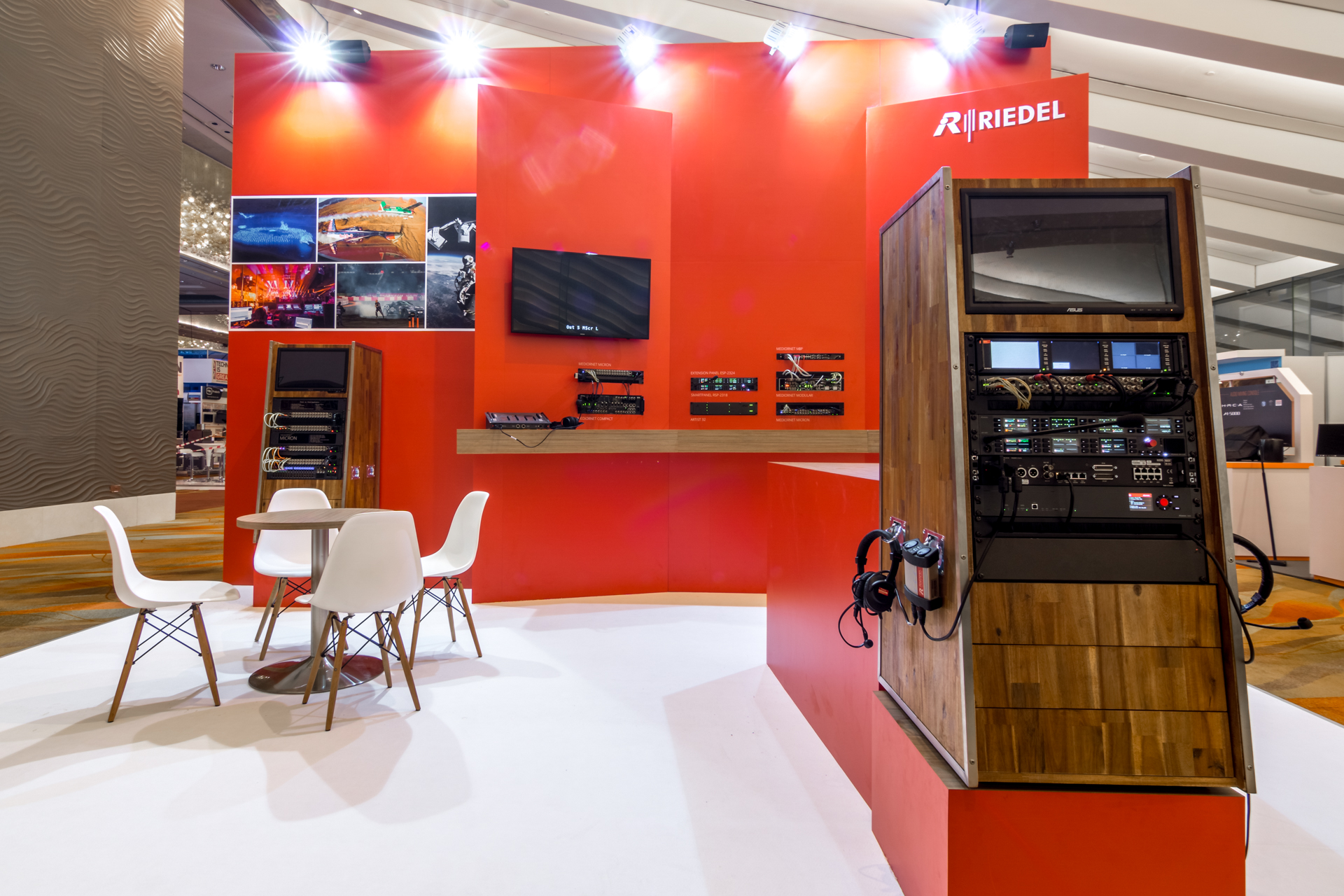 BroadcastAsia Singapore exhibition stand design & build