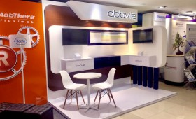 abbvie exhibition booth