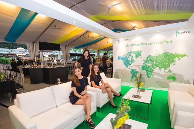 Wine lounge booth design Singapore