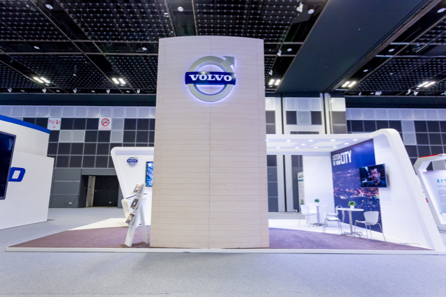 Volvo Exhibition Stand : Volvo exhibition booth punktlandung events exhibitions