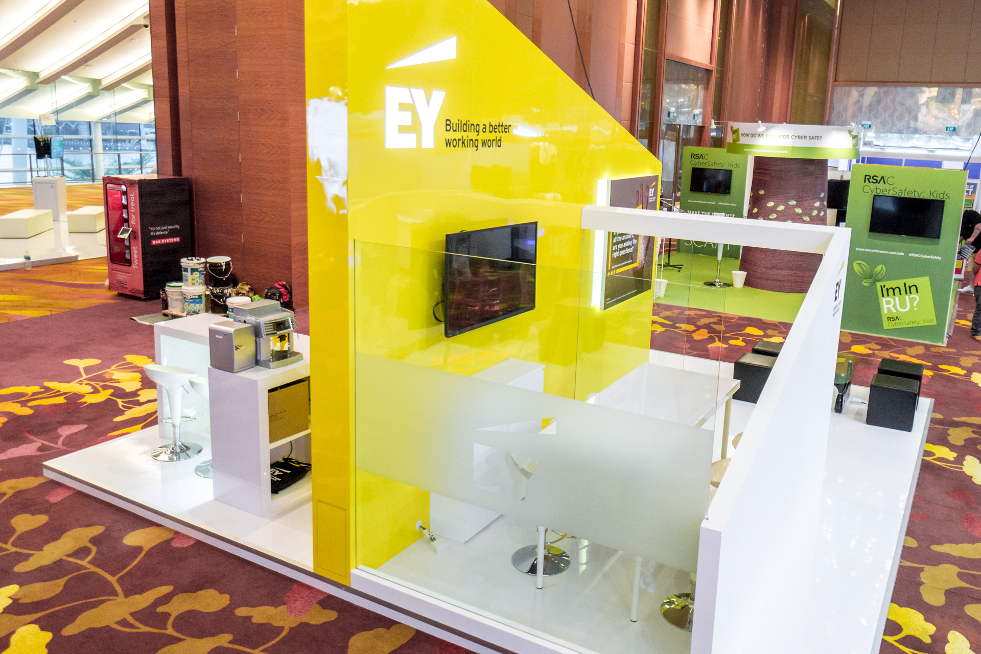 Exhibition Stand Design Process : Ey exhibition booth punktlandung events exhibitions