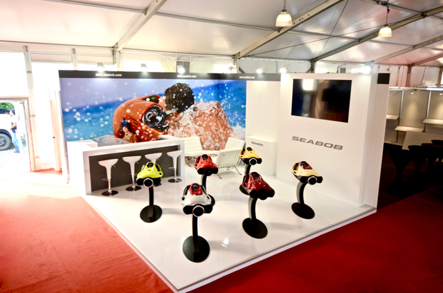 Seabob exhibition stand