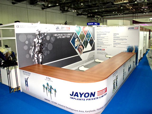 Jayon Implants exhibition booth